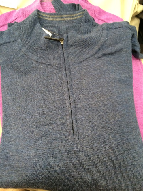 Costco Merino Wool Pullover in gray