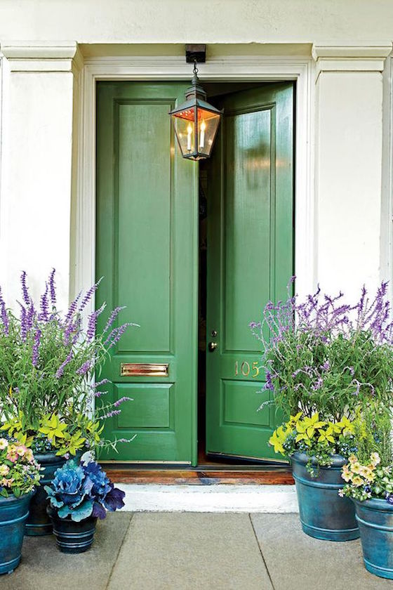 Paint Front Yellow Colors Door
