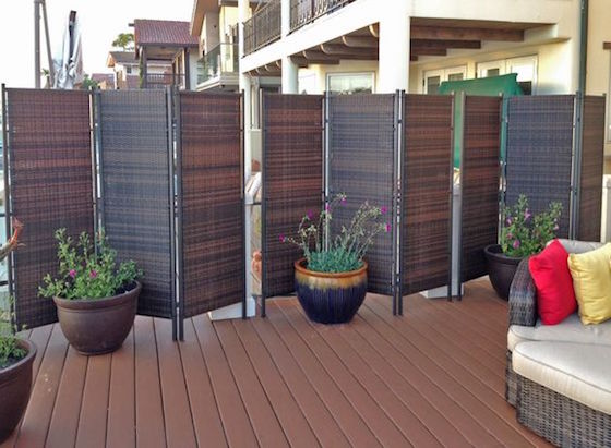 18 Attractive Privacy Screens For Your Outdoor Areas