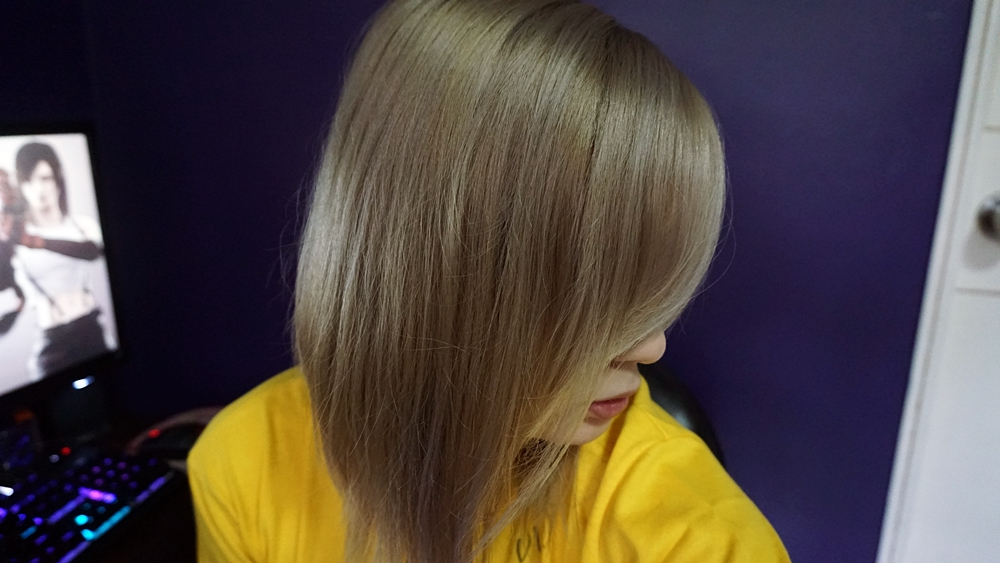Omgluie Hair Dye Review Arctic Fox Sterling Silver