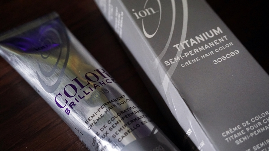 OMGluie Hair Dye Review: Ion Color Brilliance in Titanium