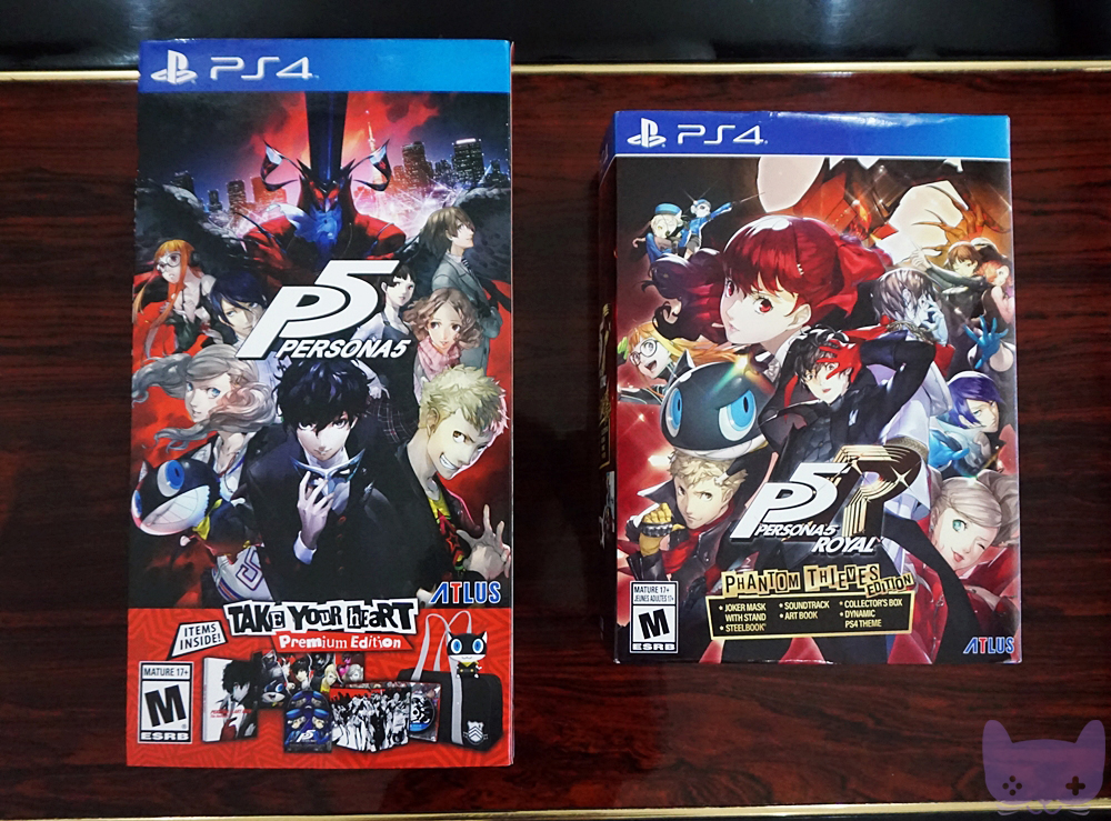 P5R Phantom Thieves Edition Vs. P5 Take Your Heart Premium Edition
