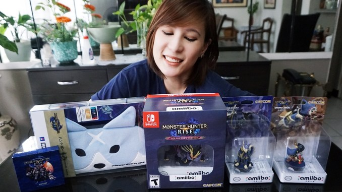 UNBOXING: Monster Hunter Rise Collector's Edition (Switch)