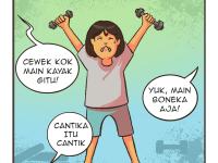 Comic: Cantik itu Kuat