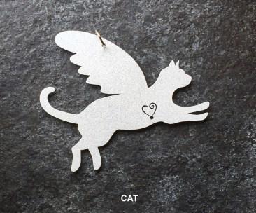 Cat Hanging Mobile