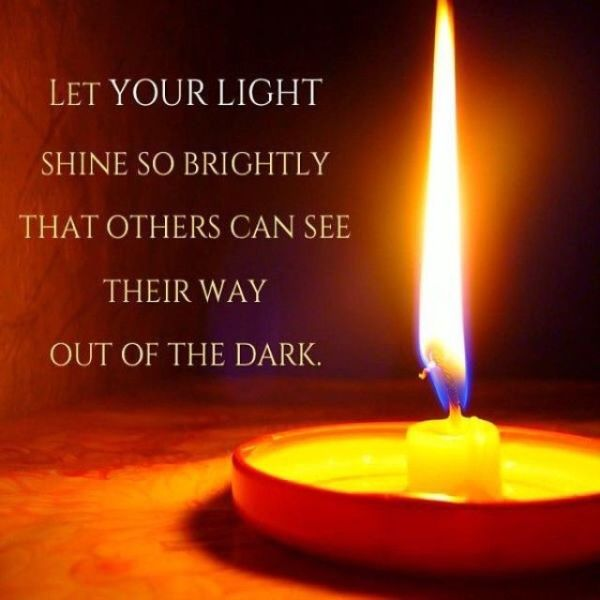 Wisdom Quotes : Let your light shine so brightly… – OMG ...