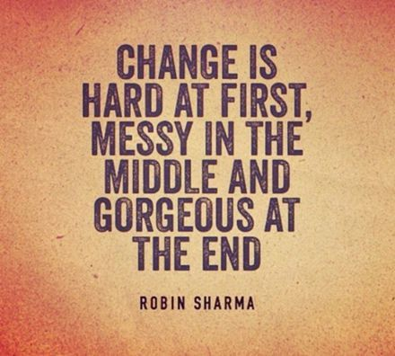 Inspirational Quotes about Strength: Talking about change ...