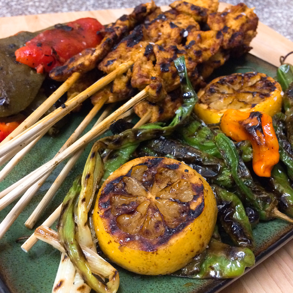 OMGs DFW Food - Grilled Skewers and Peppers 5