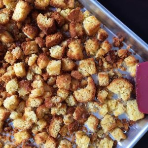 Homemade Stuffing Cubes -- A Simple Way to Elevate your Thanksgiving Meal