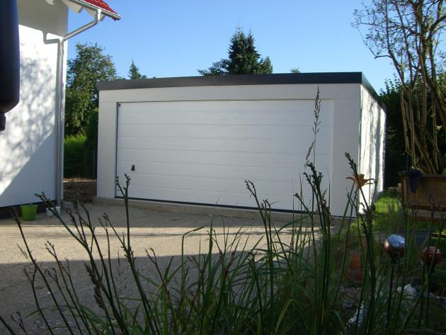 Doppelgarage walmdach  Fertiggaragen | Beton, Stahl, Holz - Omicroner Garagen :