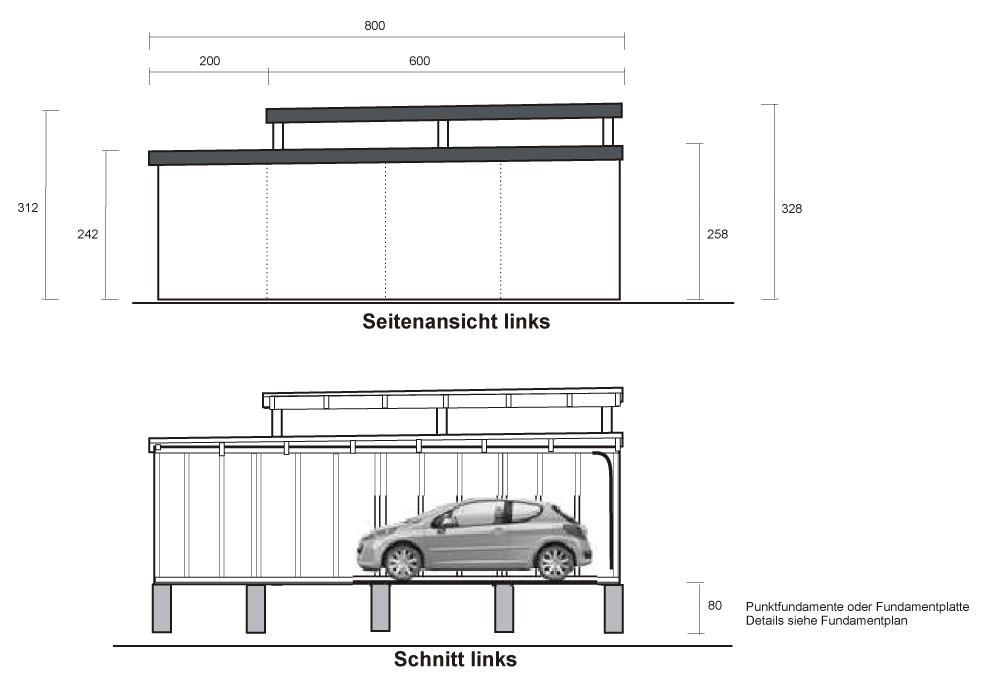 stahlgaragen preise und kosten omicroner garagen. Black Bedroom Furniture Sets. Home Design Ideas
