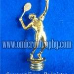 Sparepart Figur - Jual Sparepart Bahan Piala Trophy Plastik Murah Badminton