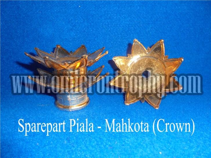 Grosir Bahan Piala Trophy Plastik Murah - Mahkota (Crown)