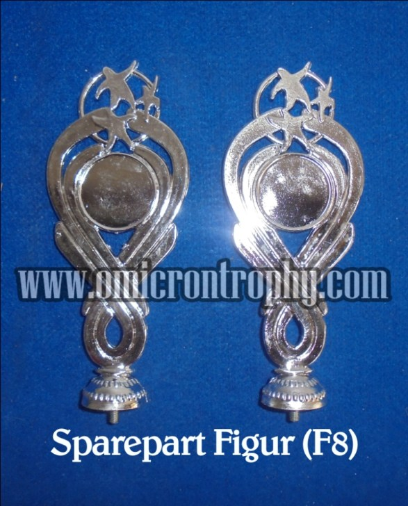 Jual Sparepart Bahan Piala Trophy Murah - Figur F8