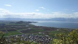 八幡山_琵琶湖