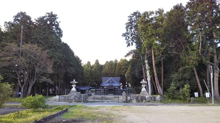 篠田神社_篠田の花火