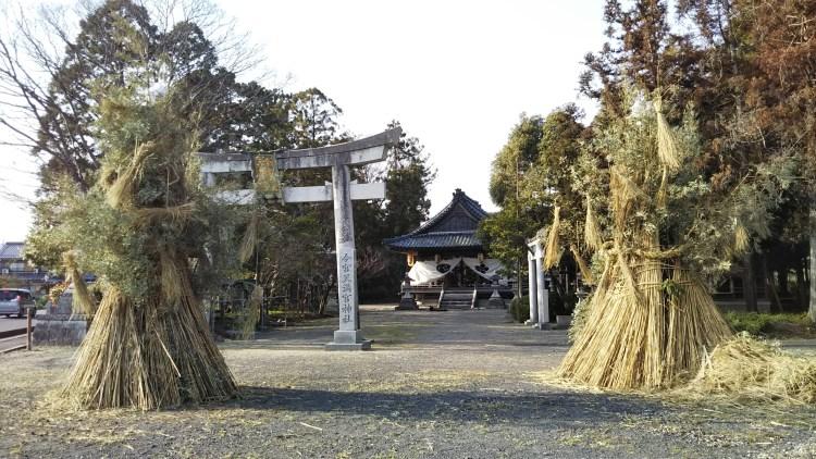 浅小井町_松明