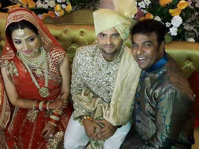 Suresh-Raina-Wedding