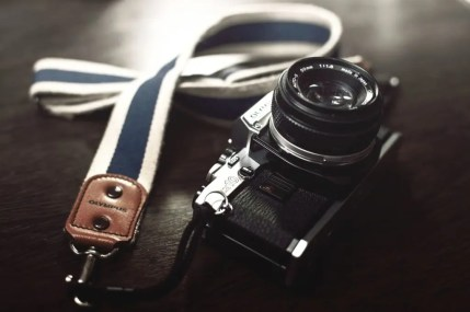 A free to use image of a camera- creative commons