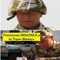 """ULTIMA ORA! Traian Băsescu, despre un posibil război în Ucraina: """"Majoritatea rezerviştilor noştri sunt plecaţi la muncă în Spania, Italia. Trebuie să ne refacem capacitatea de a-i aduce sub arme"""""""