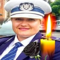 Tânără polițistă la Rutieră, răpusă de cancer la doar 41 de ani. Alexandra, mamă a doi copii, este plânsă de întregul colectiv