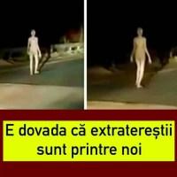 """Un video cu o """"siluetă ciudată"""" mergând pe o stradă din Jharkhand, India, a stârnit interes enorm în social media. Conform unor experți în OZN-uri, clipul este dovadă că extratereștri sunt printre noi."""