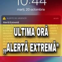 """Alertă de urgență extremă"" – Mesajul de la RO-ALERT primit de români astăzi, la 10.44"