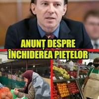 """Florin Cîțu dă asigurări că nu va închide piețele: """"Vă pot spune clar un singur lucru: eu nu voi închide piețele agroalimentare, nu voi închide mall-urile, nu voi închide economia"""""""