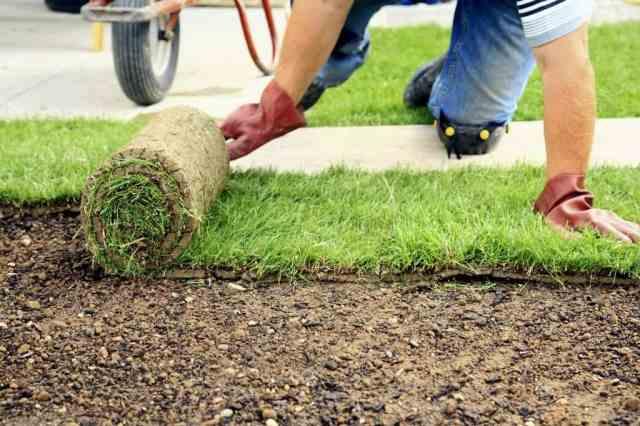 Urejanje vrta - Izgled trate lahko popolnoma spremenite s polaganjem umetne trave.