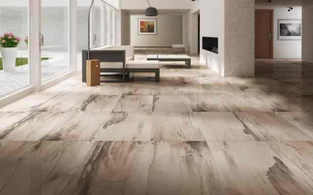 Keramične ploščice lahko posnemajo les, beton, kamen ali tekstil