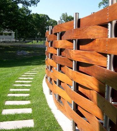 moderna lesena ograja cena 3