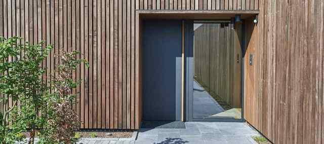 zunanja vrata material cena