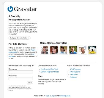 Gravatar - Globally Recognized Avatars - mini