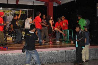 Panggung hiburan nan meriah di Munas I Plecimania Indonesia di Jogja