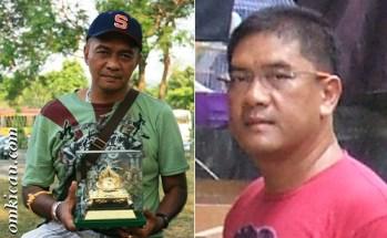 H Elviano dan trophy Piala Raja -kiri dan H Syamsul Saputro - kanan