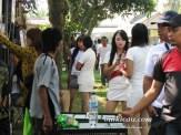 Gadis-gadis SPG aneka produk di Piala Raja