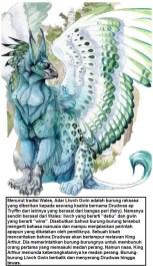 Adar Llwch Gwin - burung dalam mitologi masyarakat Wales