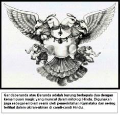 Gandaberunda atau Berunda adalah burung berkepala dua dengan kemampuan magic yang muncul dalam mitologi Hindu
