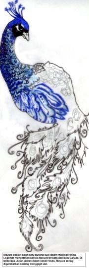 Mayura adalah salah satu burung suci dalam mitologi Hindu
