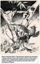 Tigmamanukan dalam mitologi Filipina