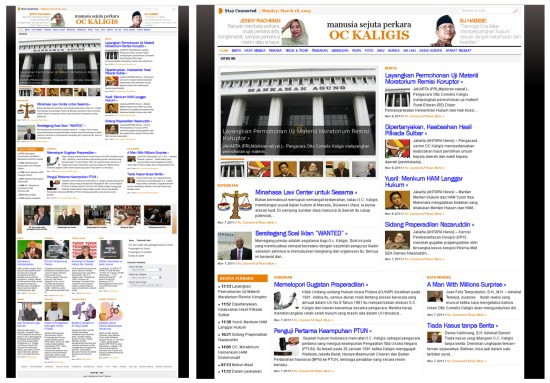 Website Pengacara OC Kaligis (ockaligis.com)