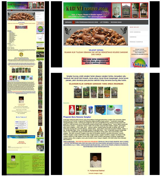Website Sangkar Burung