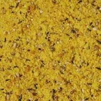kuning telur rebus dan poppy seed