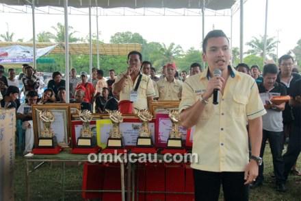 Ketua BnR Sumatera M Khadafi