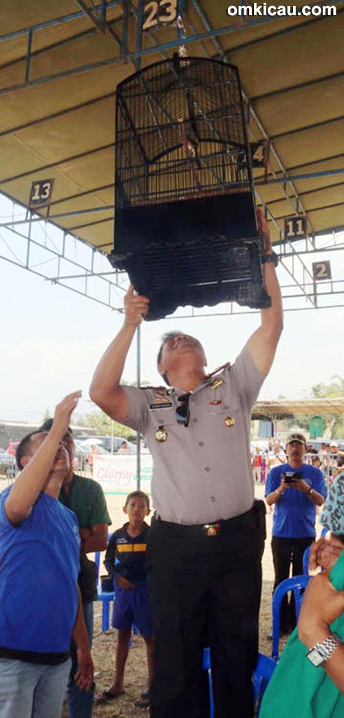 Lomba burung Kapolsek Cup Bandungan