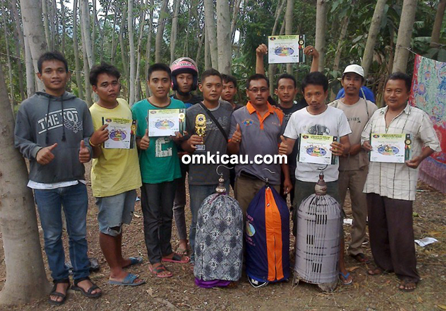 Om Ujud dan Cakrabuana BC Team
