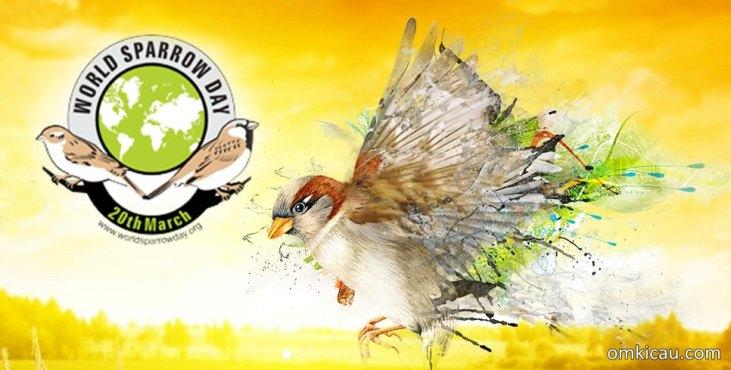 World Sparrow Day yang berlangsung pada tanggal 20 Maret setiap tahunnya