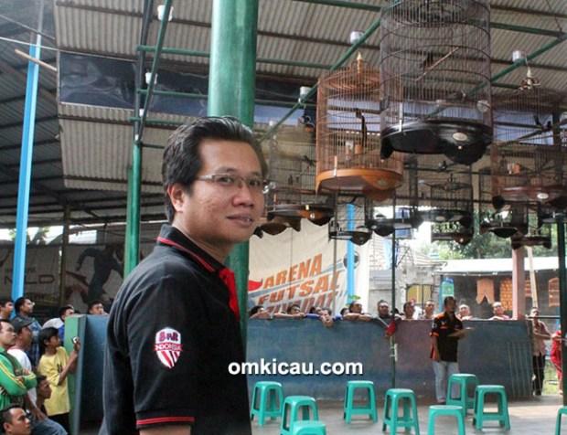 Om Erlangga, ketua U2 Enterprise Depok