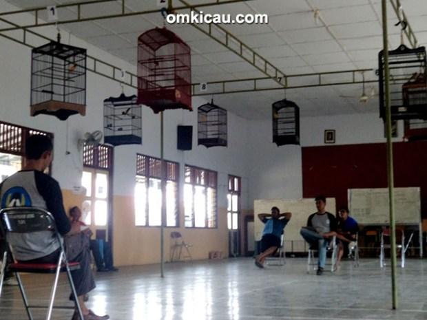 Kontes kenari indoor PKP