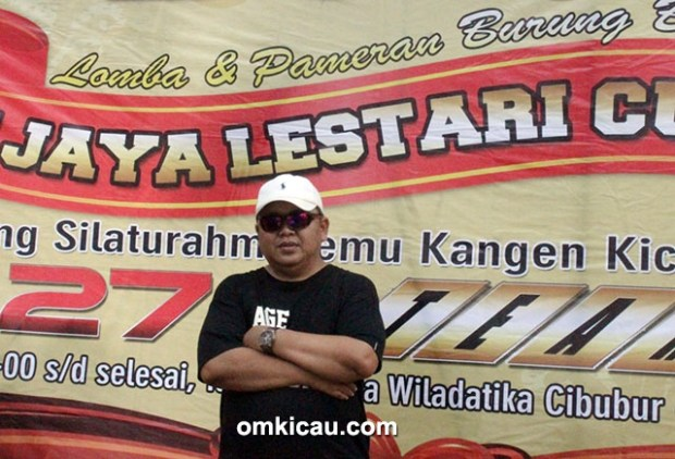 Om Deny Halim, ketua PBI Cabang DKI Jakarta